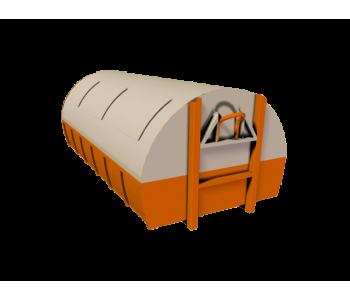 Контейнер для мусора 12 м3 закрытый МК-12.0000-000