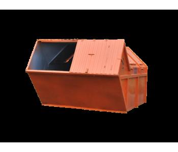 Контейнер для мусора 6 м3 закрытый (лист 1,5мм) МК-6.0000-000